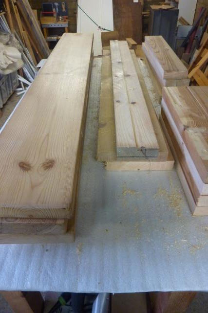 table basse en bois de r cup 39. Black Bedroom Furniture Sets. Home Design Ideas