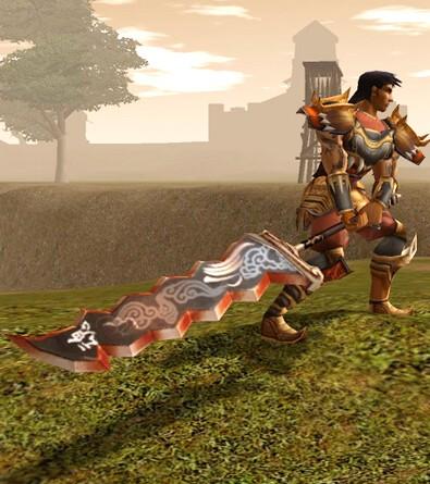 kin kılıcı savaşcı