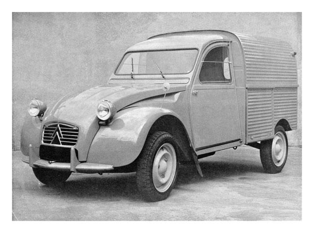 2cv fourgonnette 1962