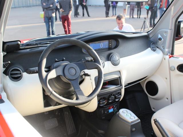 Habitacle Citroën E-Méhari