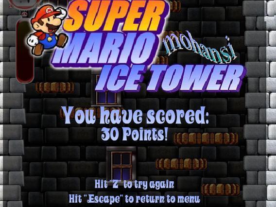 اللعبة_النادرة_ماريو_في_برج_الجليد_العملاق_لتحرير_ الأميرة ▒▓█Super_Mario_Ice_Tower█▓