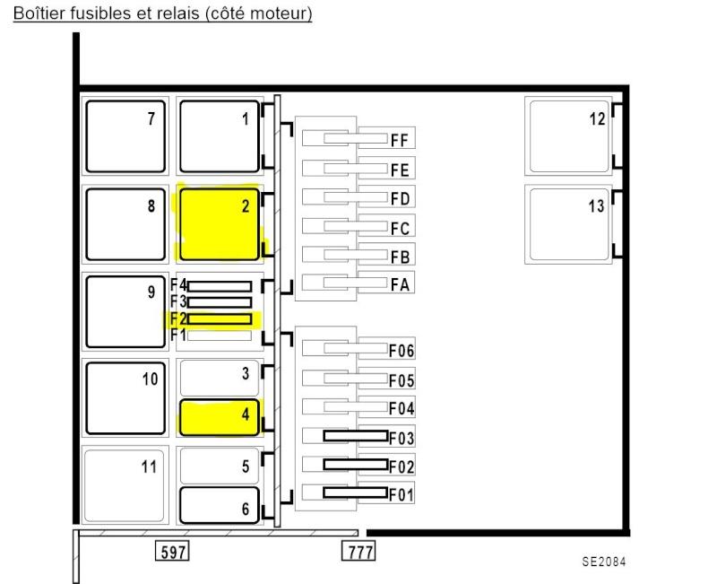 relais pompe de gavage emplacement relais pompe de gavage renault m canique d marrage sc nic. Black Bedroom Furniture Sets. Home Design Ideas
