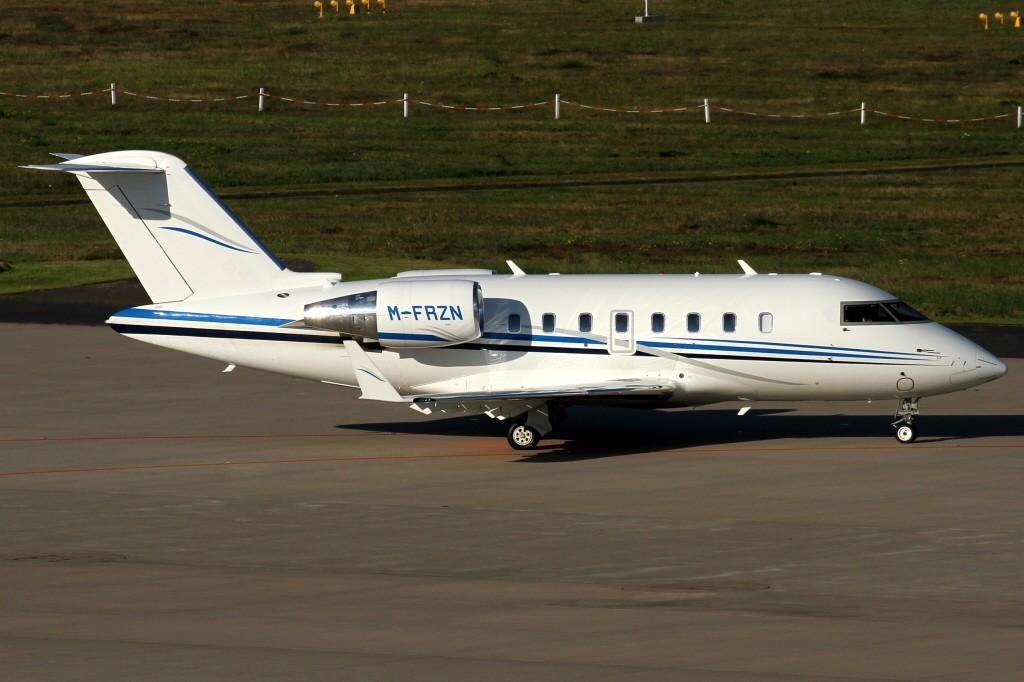 M-FRZN Corporate Jet