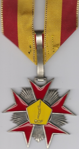 O.D.F.  LOYAUTE FIDELITE HONNEUR RESPECT. Fluctuat nec mergitur