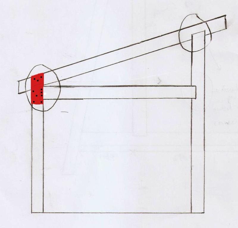 Ossature bois pour toit une pente - Construire un toit 1 pente ...