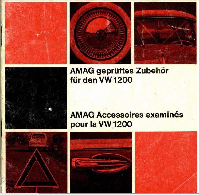 catalogue d'accessoires Amag 1964