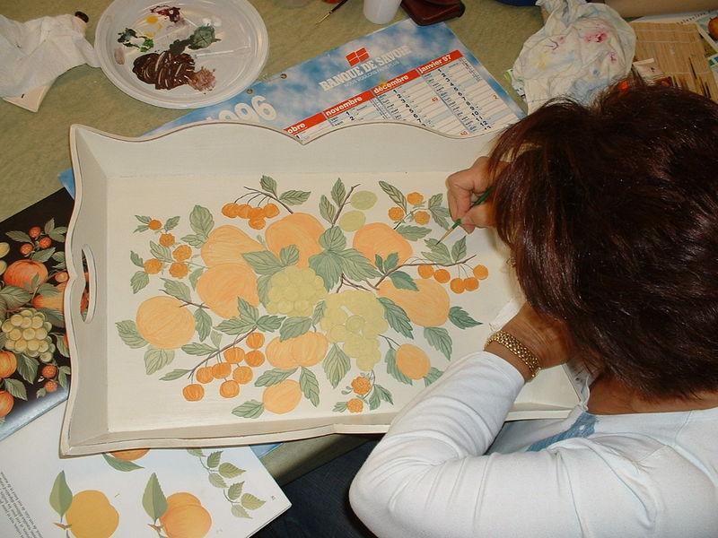 Peinture sur m tal verre bois faience porcelaine soie etc page 12 for Peinture sur faience