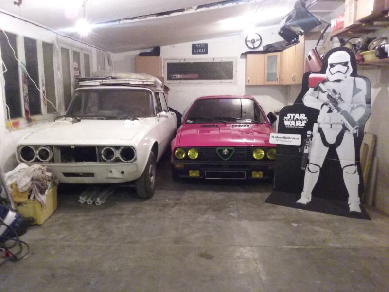 Dans le garage du jedi page 4 passion alfa alfa romeo for Assurance garage mort