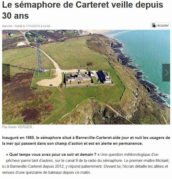 S maphore barneville carteret manche - Office du tourisme de barneville carteret 50 ...