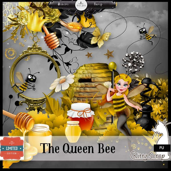 The queen bee de Kittyscrap dans Janvier kittys36