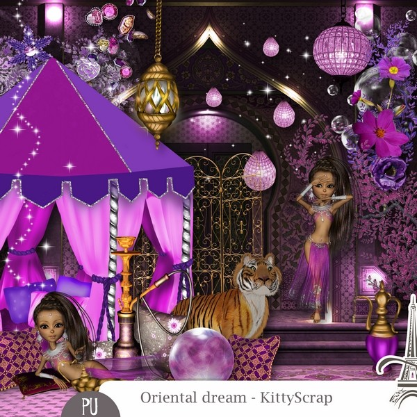 Oriental dream de Kittyscrap dans Janvier previe59