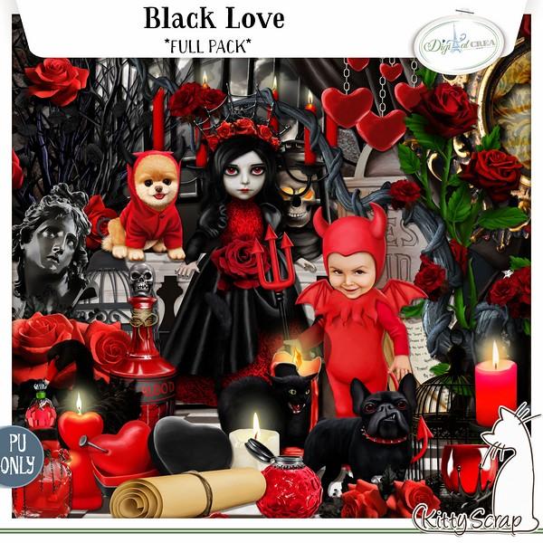 Black love de Kittyscrap dans Février previe66