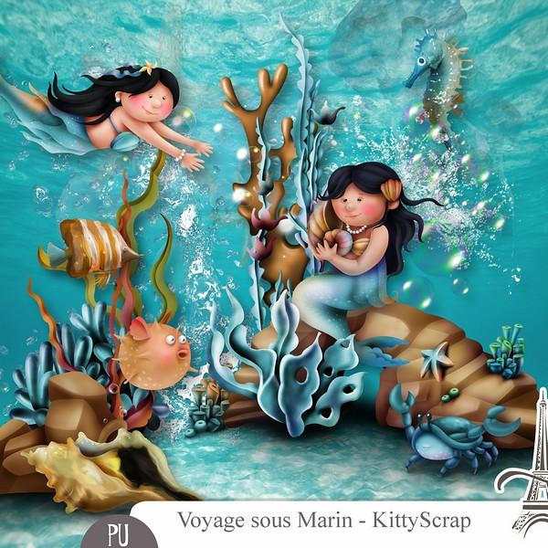 Voyage Sous Marin de Kittyscrap dans Février previe71