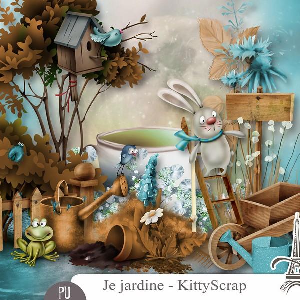 Je Jardine de Kittyscrap dans Février previe73