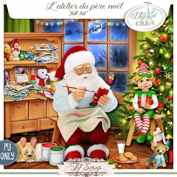 L'Atelier du père Noël de Tifscrap dans Decembre tifscr12