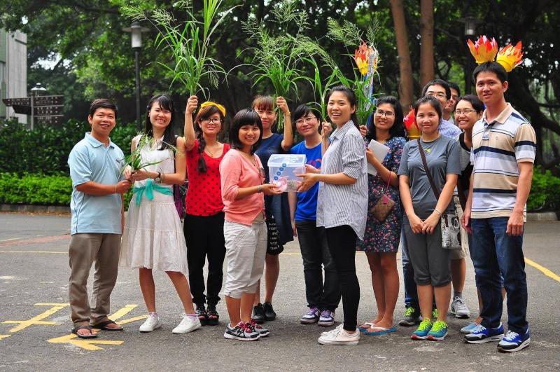 Hoạt động quyên góp gây quỹ của Đồng hàng Taiwan