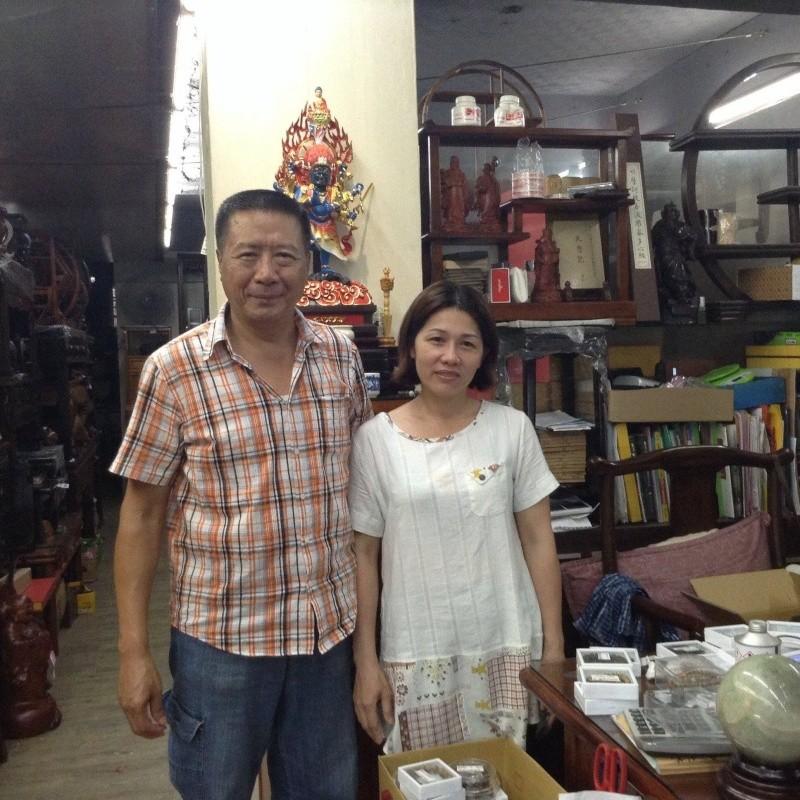 Mécènes principaux de Dong-Hanh Taïwan : Monsieur Lin-Minh Hui et sa femme