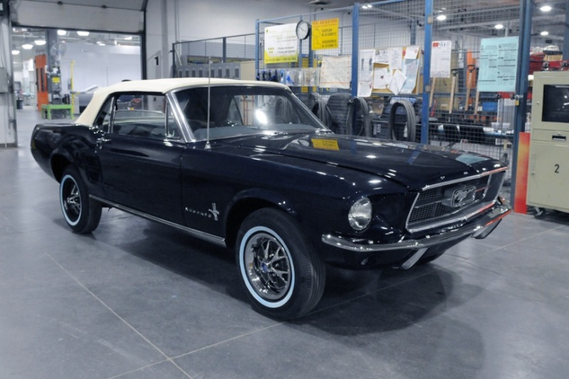 projet ford mustang 1967 restaurer le pass pour un meilleur futur page 5. Black Bedroom Furniture Sets. Home Design Ideas