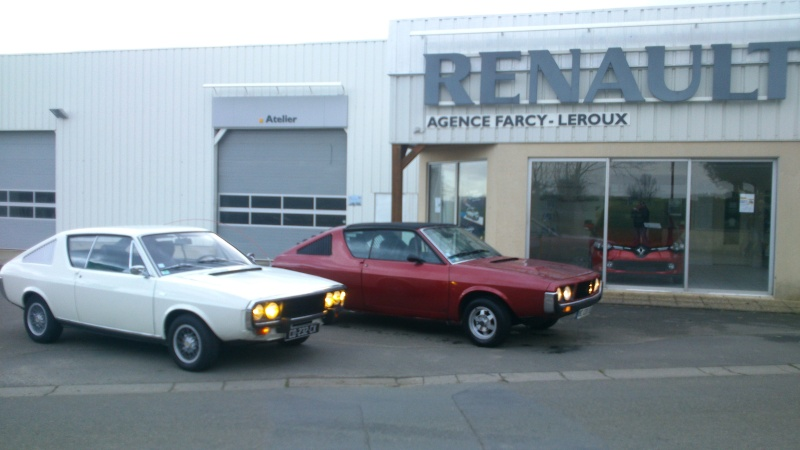 Renault 17 ts 1328 rouge lucifer page 5 for Arret voiture garage