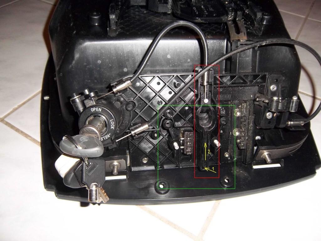 Changer un barillet sur un top case bmw bloqu ferm - Changer un barillet ...
