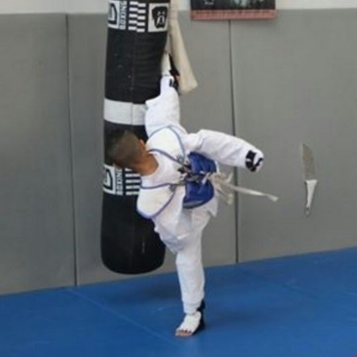 Entrainement Taekwondo