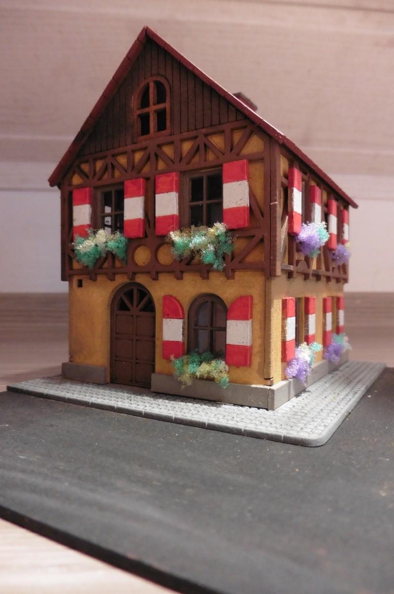 kleines fr nkisches fachwerkhaus 1 87 gebaut von gusti. Black Bedroom Furniture Sets. Home Design Ideas