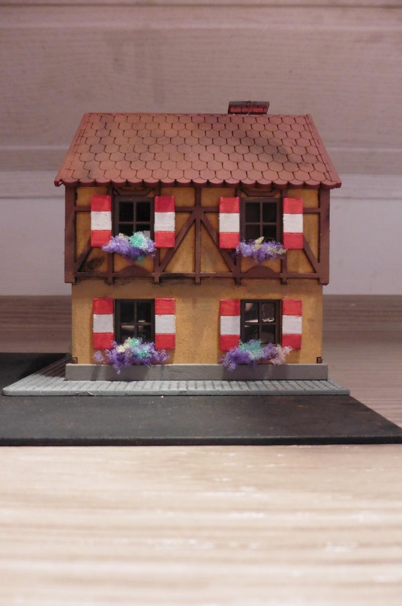 kleines frnkisches fachwerkhaus 1 87 gebaut von gusti gustibastler. Black Bedroom Furniture Sets. Home Design Ideas