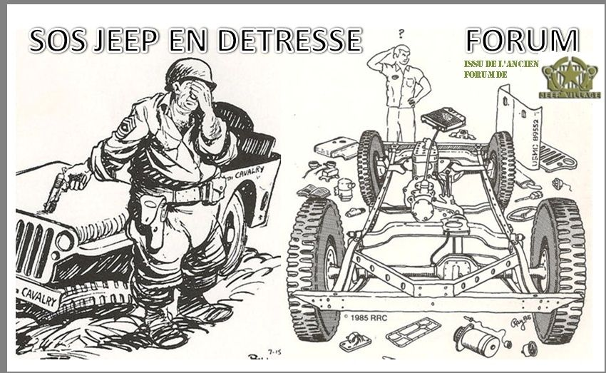 SOS JEEP EN DETRESSE : réparation, entretien, restauration