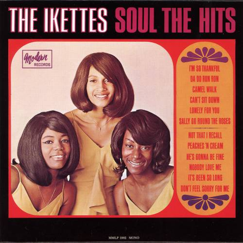 The Ikettes Sally Go Round The Roses