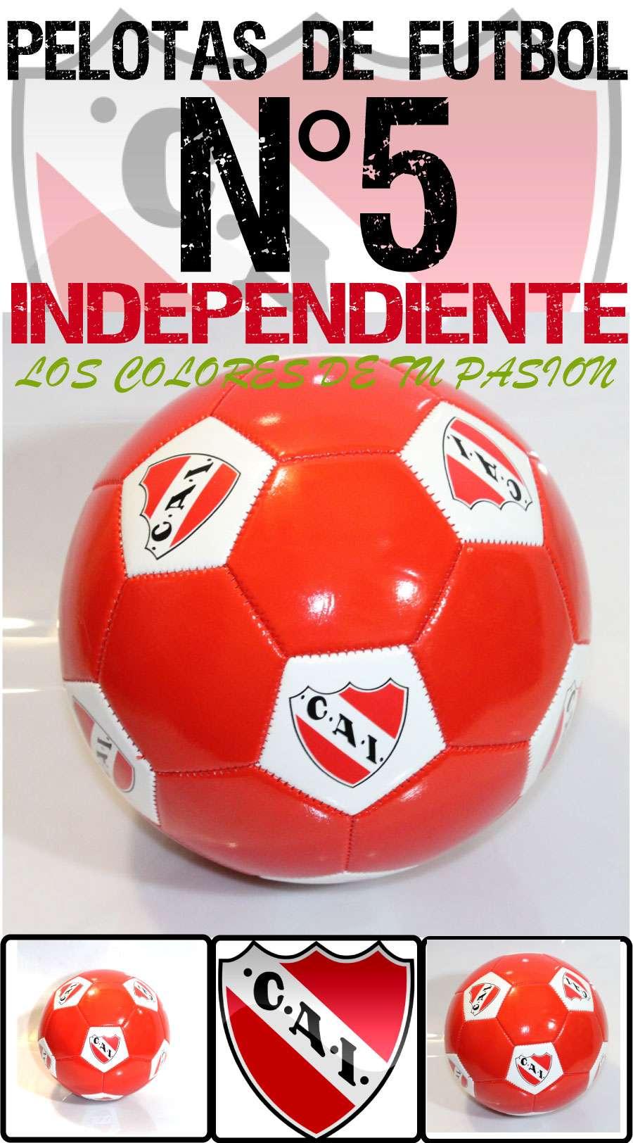 Preguntas y Respuestas sobre Pelota Futbol Club Atletico Independiente N° 5  Photoprint e3af44ad393b3