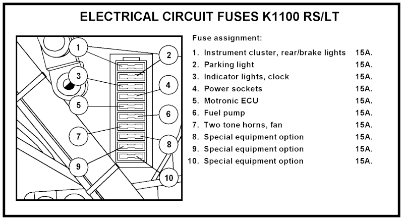 fuse box layout k100 battery box layout wiring diagram