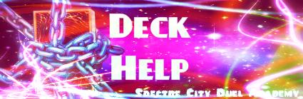 Deck Help