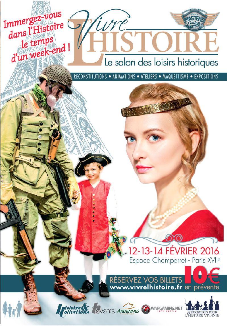 Salon des loisirs historiques 12 13 14 fevier 2016 paris for Salon loisirs creatifs paris