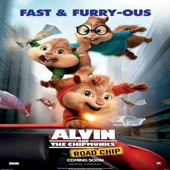 فيلم Alvin and the chipmunks The Road Chip 2015 مترجم كـــام