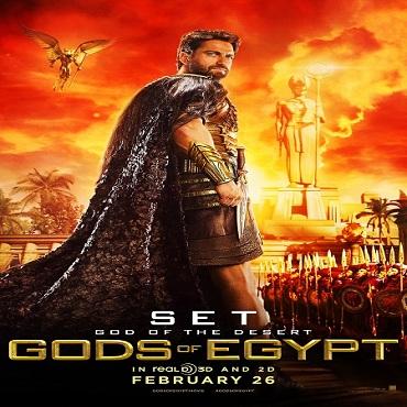 شاهد العرض الدعائى الثانى والملحمى لفيلم Gods of Egypt 2016