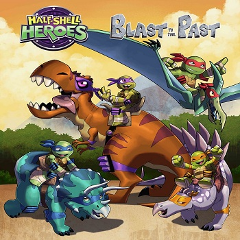 فيلم Half-Shell Heroes Blast to the Past 2015 مترجم ديفيدى