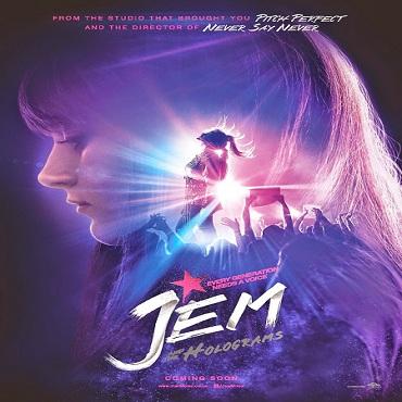 فيلم Jem and the Holograms 2015 مترجم ديفيدى