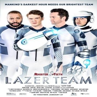 فيلم Lazer Team 2015 مترجم دي فى دي