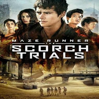 فيلم Maze runner The Scorch Trials 2015 مترجم نسخة ديفيدى