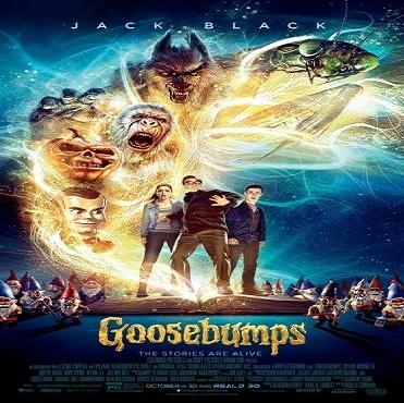 فيلم Goosebumps 2015 مترجم ديفيدى