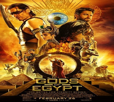 شاهد العرض الدعائى الجديد لفيلم Gods of Egypt 2016