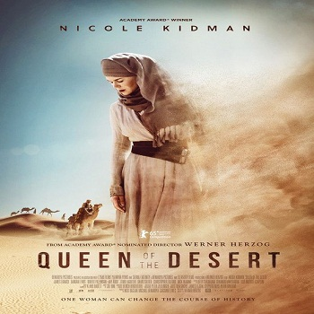 فيلم Queen of the Desert 2015 مترجم دي فى دي