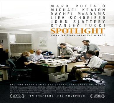 فيلم Spotlight 2015 مترجم دي في دي