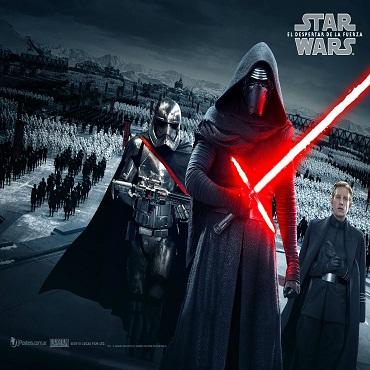 فيلم حرب النجوم - Star wars 7 يحقق إيردادت مذهلة فى اول عرض