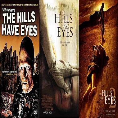مترجم سلسلة افلام The Hills Have Eyes Movies Pack نسخ بلوراى