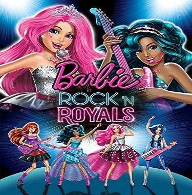 فيلم Bar bie in Rock N Royals 2015 مترجم ديفيدى