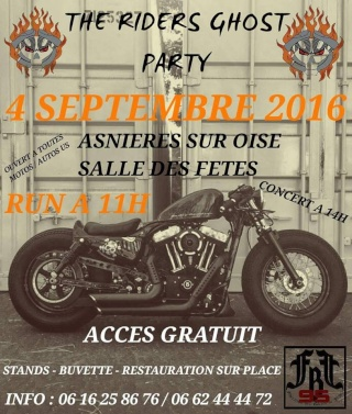 4 septembre 2016 the riders ghost asnieres sur oise 95. Black Bedroom Furniture Sets. Home Design Ideas