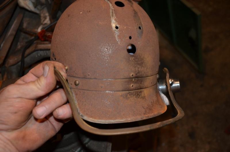 Restauration complete d 39 un casque a criniere - Decoller tuyau pvc ...