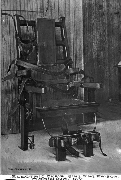 La chaise lectrique page 5 - Execution chaise electrique ...