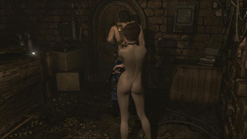 resident evil zero nude mod